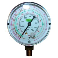 Refco Druckmanometer 80mm 1/8''NPT M5-500-DS-Multi