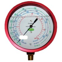 Refco Druckmanometer 80mm 1/8''NPT R5-340-M-1/+30bar